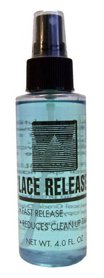 Lace Release Spray 4 oz. Bottle walker tape