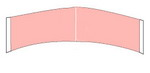 C: Contour Strips Hairpiece Tape Sensi-Tack (Red Liner Clear)