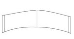 C: Contour Strips-White Hairpiece Tape (3M Clear)