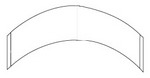 CC: Contour Strips-White Hairpiece Tape (3M Clear)