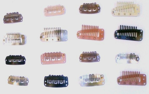Hairpiece clips/Toupee clips