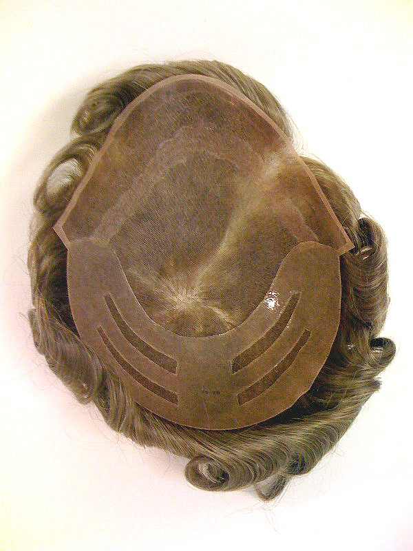 "Cut-to-Size Hairpiece #2 With 1"" Lace Front"