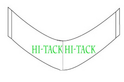 Hi-Tack Clear (Medical Tape) A